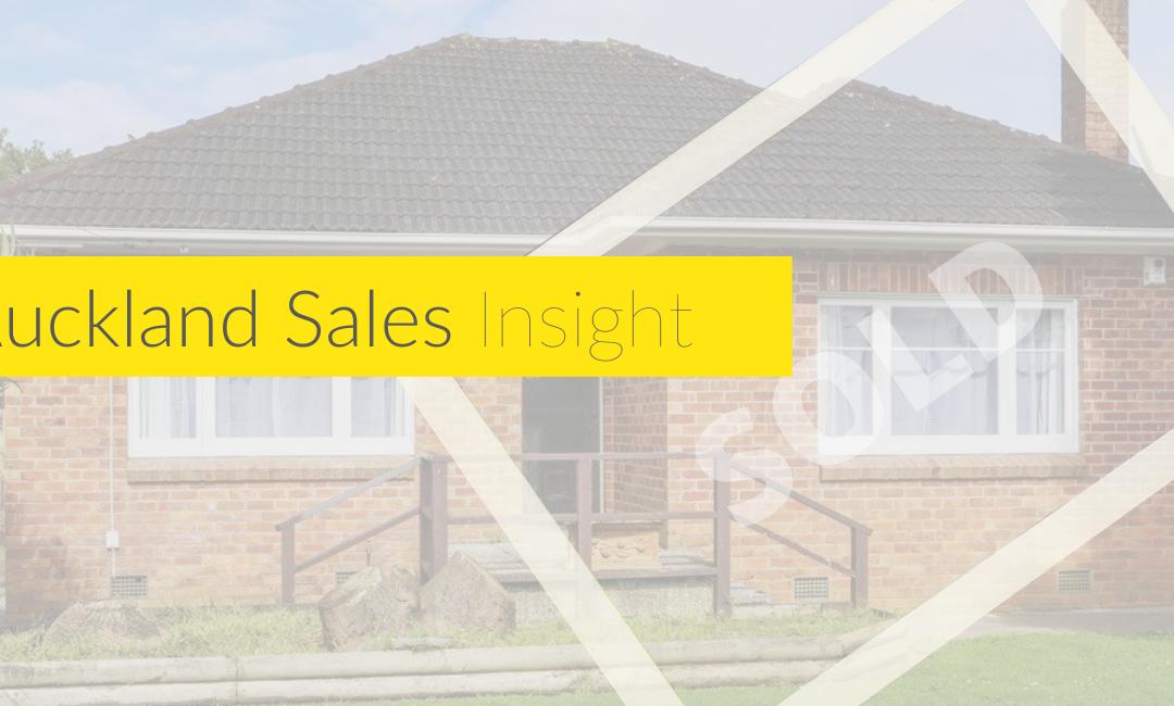 Auckland Sales Insight